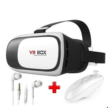 VR Box Sanal Gerçeklik Gözlüğü + Bt Kumanda + Kulaklık