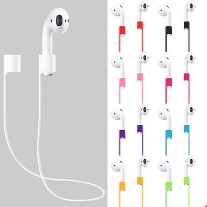 Apple AirPods Kulaklık Silikon Askı Askısı Kaybolmayı Önler