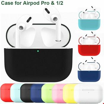 Apple iPhone Airpods Pro Ultra İnce Silikon Dayanıklı Kılıf Koruma