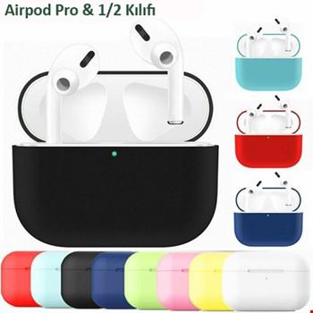 Airpods Pro Ultra İnce Silikon Dayanıklı Kılıf Koruma