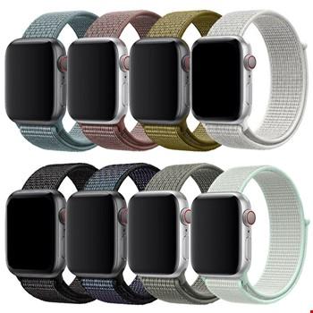 Apple Watch 1 2 3 4 5 38mm 40mm Loop Örgü Spor TME Kordon Kayış