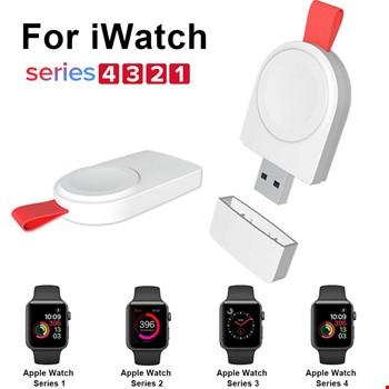 Apple Watch 1 2 3 4 Serisi Taşınabilir Manyetik Şarj Aleti Cihazı