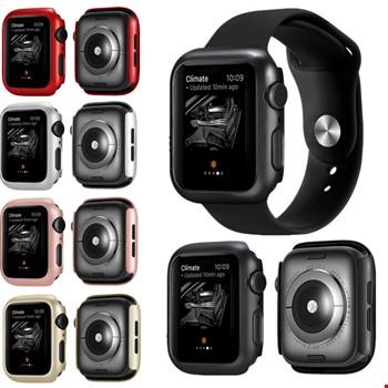 Apple Watch 4 5 40mm Sert Plastik Rubber Kapak Kılıfı Koruyucu