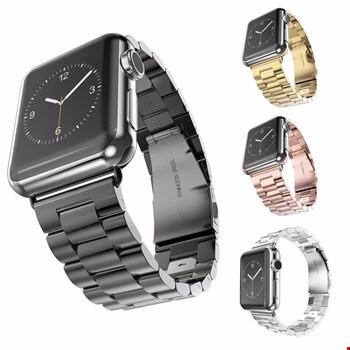 Apple Watch 38 mm ve 40 mm Çelik Steel Kordon Kayış
