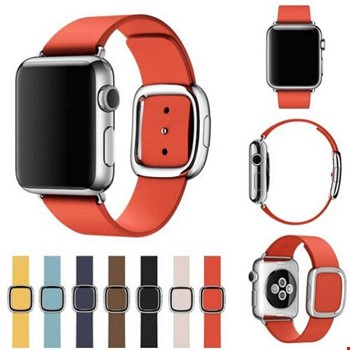 Apple Watch 2 3 4 42 ve 44mm TME Kordon Modern Buckle