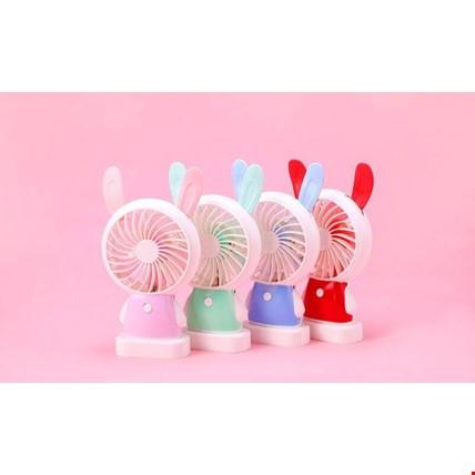 Araç Araba Ev Ofis Mini Vantilatör Rabbit Fan Pervane Soğutucu
