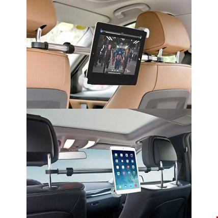 Araç İçi Koltuk Arası Arkası 360 Derece Tablet Universal Tutucu