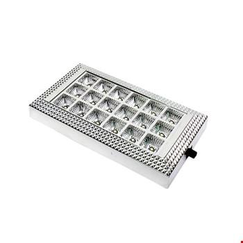 Araç İçi Tavan Ledi Lambası Aydınlatma 18 Led Beyaz Işık 12V