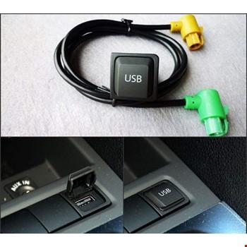 Vw Passat Jetta Golf Mk5 Mk6 Rcd510 Teyp Usb Bağlantı Kablo Sku7