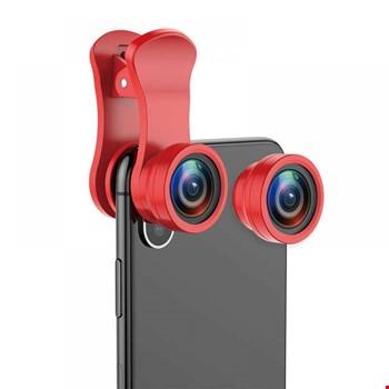 Baseus Kamera Lens Fish Eye 15x 100 Derece C09 Tüm Telefonlar