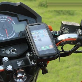 Bisiklet Motosiklet Atv Telefon Tutucu Su Geçirmez 4.8-5.5 inc