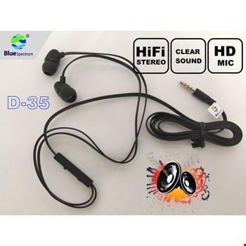 Blue Spectrum B-35 Stereo Mikrofonlu Kulak İçi Kulaklık