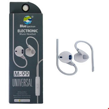 Blue Spectrum M-99 Stereo Mikrofonlu Kulak İçi Kulaklık
