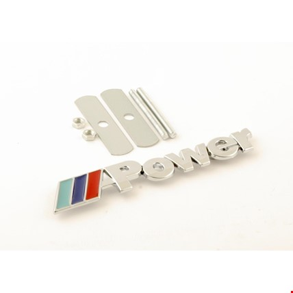 Bmw M Power Vidalı Logo Amblem 3D Metal