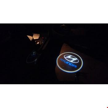 Hyundai Kapı Altı Led Logo Aydınlatma 3D Ghost Shadow