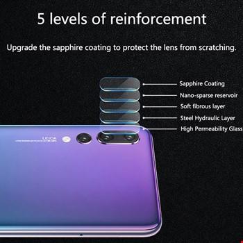 Huawei P20 P20 Pro Yüksek Çözünürlük Kamera Lensi Koruma Camı