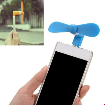 Type-C Telefonlarla Uyumlu Taşınabilir Mini Fan Vantilatör 2 Adet