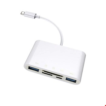 iPhone Lightning 2 Adet Usb 3.0 Sd Tf Mouse Lightning Şarj Adaptörü