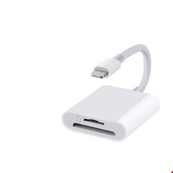 iPhone Lightning Sd Tf Kart Okuyucu Kamera Adaptör Otg Kablo