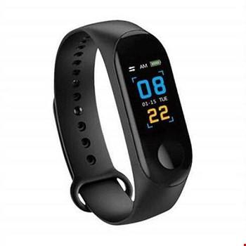 M3 Plus Bileklik Adımsayar Kalorimetre Nabız Ölçer Akıllı Saat