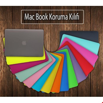 MacBook Pro 15 Kılıf Rubber Kapak Sert Kılıf