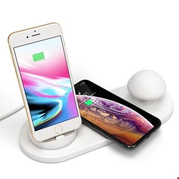 iPhone Type-C Masaüstü Şarj Kablosuz Şarj Cihazı Masa Üstü Lamba