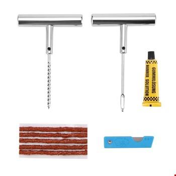 Metal Lastik Tubeless İçin Tamir Seti Fitil ve Solüsyon Hediyeli