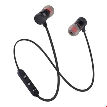 Mıknatıslı Mikrofonlu Kablosuz Stereo Bluetooth Spor Kulaklık