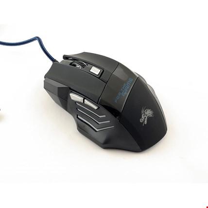 TG-01 Gamer Gaming Mouse Fare Işıklı  Oyuncu Mouse 5500 DPI