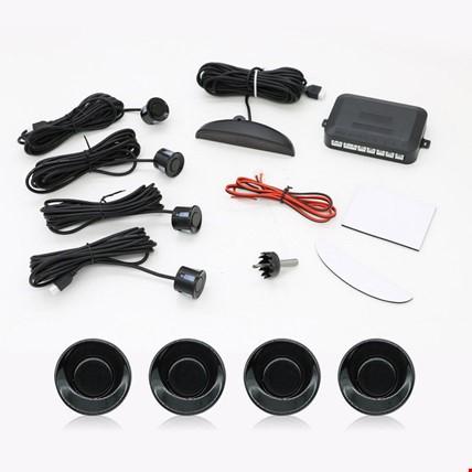 Dijital Ekranlı Araç Park Sensörü Ses İkazlı 4 Sensörlü Renk: Siyah