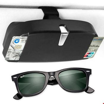 Universal Araç Oto Güneşlik Gözlük Kutusu Tutucu