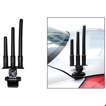 Oto Araç Tüm Modeller İçin 3lü Süs Dekoratif Anten