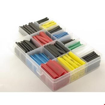 Polyolefin Isı Shrink Boru Daralan Makaron Renkli Set Kutulu 520