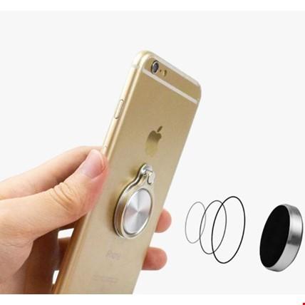 Renkli 360  i Ring Telefon Yüzük Tutucu Stand Selfie Yüzüğü