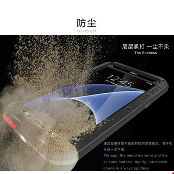 Samsung Galaxy Note 4 Taktik Zırh Kılıf Lovemei