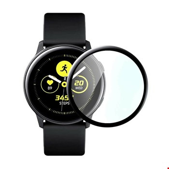 Samsung Galaxy Watch Active 2 44 mm 3D Cam Ekran Koruyucu Filmi