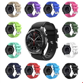 Samsung Gear Watch 46mm Silikon TME Kordon Kayış