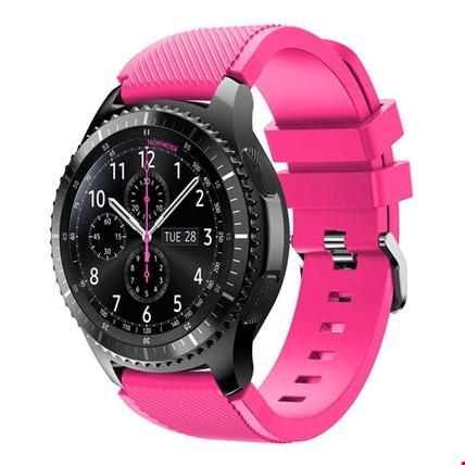 Huawei Watch Gt Gt2 Classic - Gt Gt2 Sport Silikon Kordon Kayış Renk: Pembe