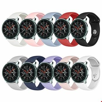 Samsung Gear Watch Silikon TME Kordon Kayış Yeni Model
