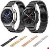 Samsung Gear Watch Metal Kordon Kayış Steel Renk: Siyah