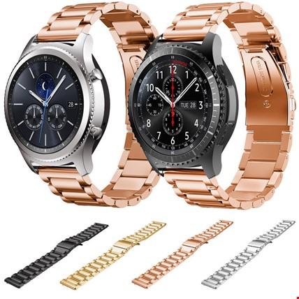 Samsung Gear Watch Metal Kordon Kayış Steel