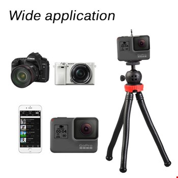 SLR Aksiyon Kamerası Tripod Ahtapod Stand