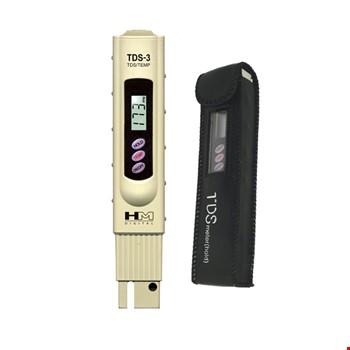 TDS Metre Su Kalitesi Ölçüm Cihazı Termometreli + Kılıf + Pil