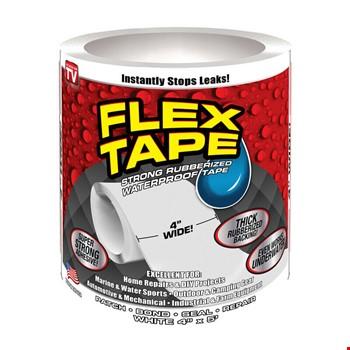 Flex Tape Ultra Güçlü Suya Dayanıklı Şeffaf Tamir Bandı 10cm x 2mt