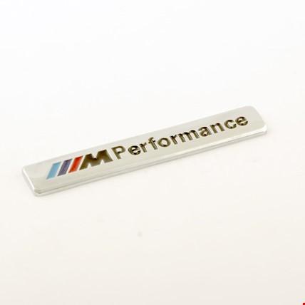 Bmw M Performance Metal Amblem Logo Dekoratif Küçük