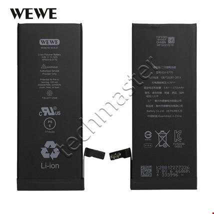 Wewe iPhone 5G 5S 6 6S 7 Plus Batarya Pil Orijinal Kalitesinde Telefon Modeli: iPhone 5
