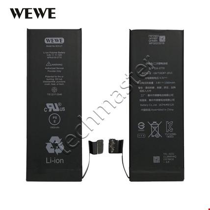 Wewe iPhone 5G 5S 6 6S 7 Plus Batarya Pil Orijinal Kalitesinde