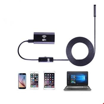 Wifi Endoskop Kablosuz Yılan Kamera 10 Metre Android İos Windows
