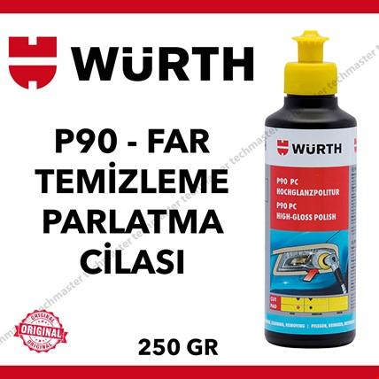 Würth Far Temizleyici ve Parlatıcı Cila 250gr
