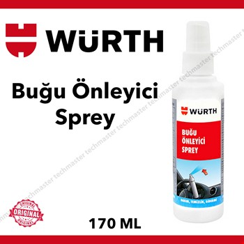 Würth Buğu Önleyici Anti Fog Spray 170ml